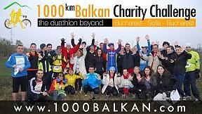 1000km Balkan Charity Challenge