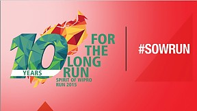 Spirit of Wipro Run ~ 2015