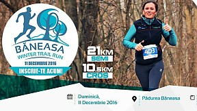 Baneasa Winter Trail Run ~ 2016